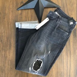 Kut from the Kluth Catherine Boyfriend Black Jeans